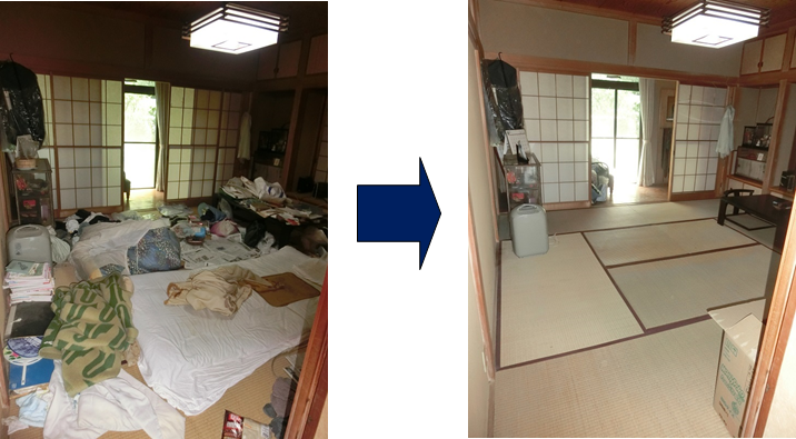 倉井 寝室